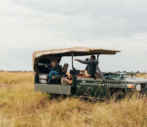 Specialist Photographic Vehicle Game Drive